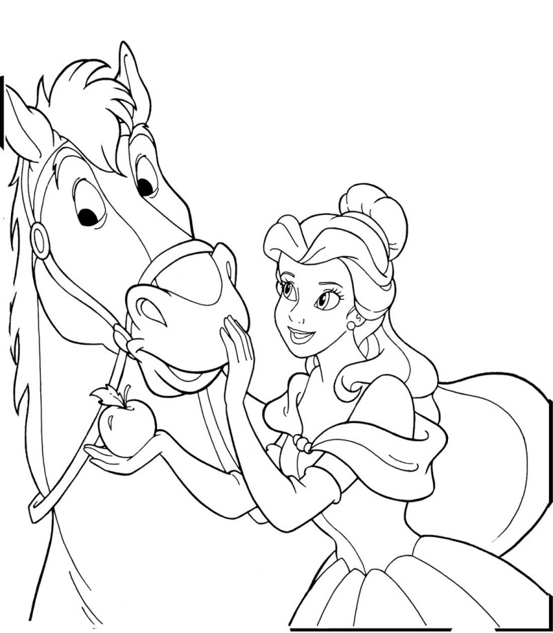 nicoles horse coloring pages - photo#30