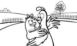 Dibujos de gallinas