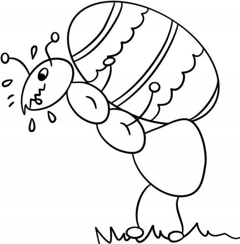 Atractivo Colorear Hola Hormiga Para Colorear Fotos - Dibujos Para ...
