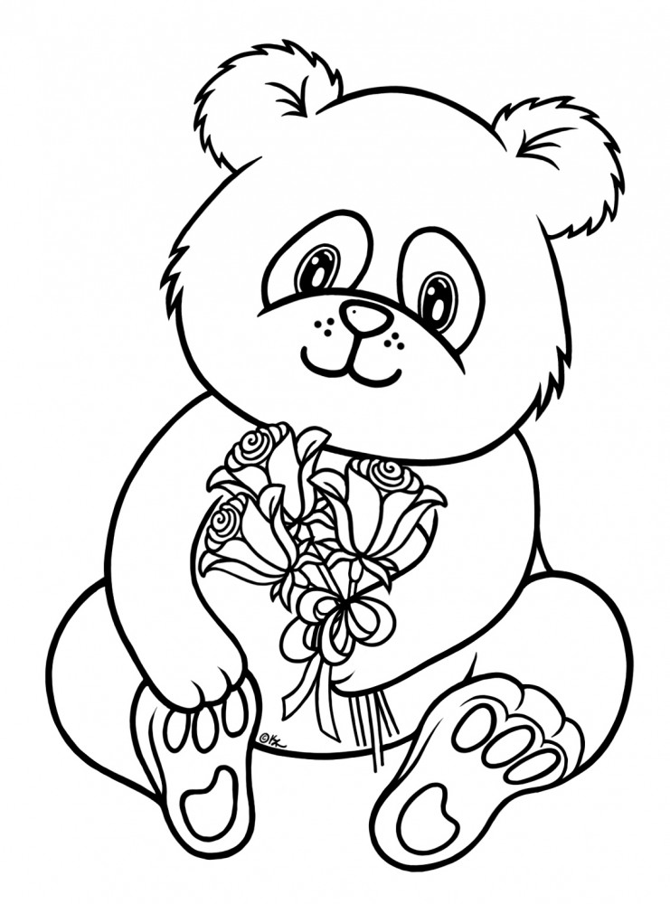red panda coloring pages - dibujos de pandas para colorear y pintar