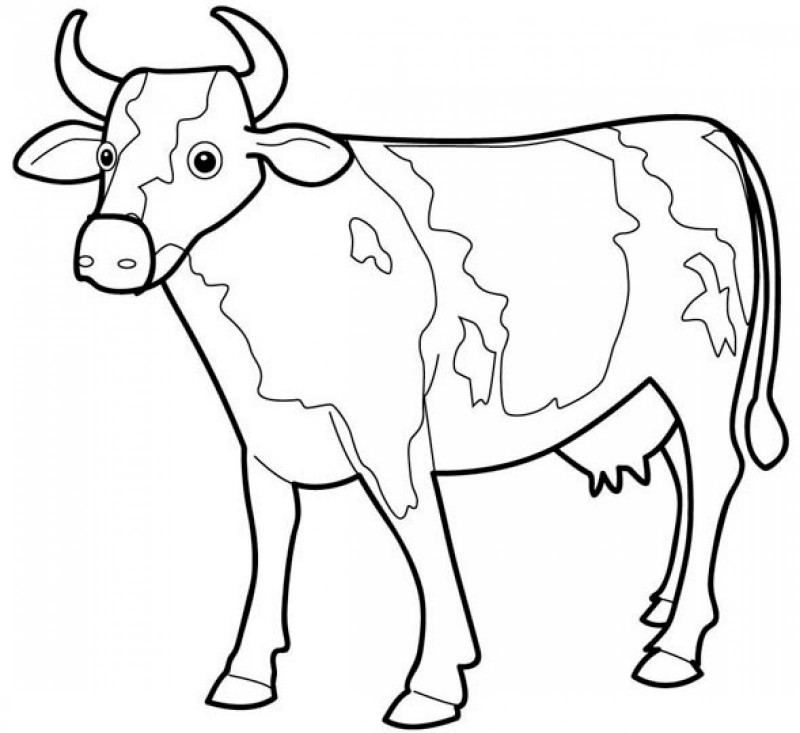 cattle trailer coloring pages - photo#33