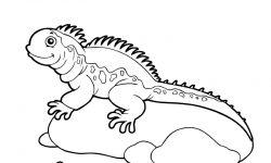 Dibujos de iguanas